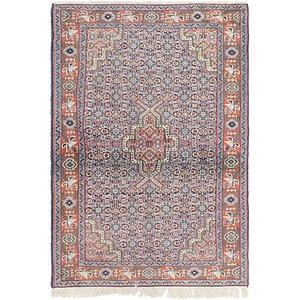 3' 7 x 5' 2 Sarough Persian Rug
