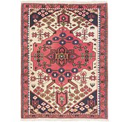 Link to 3' 5 x 4' 9 Hamedan Persian Rug
