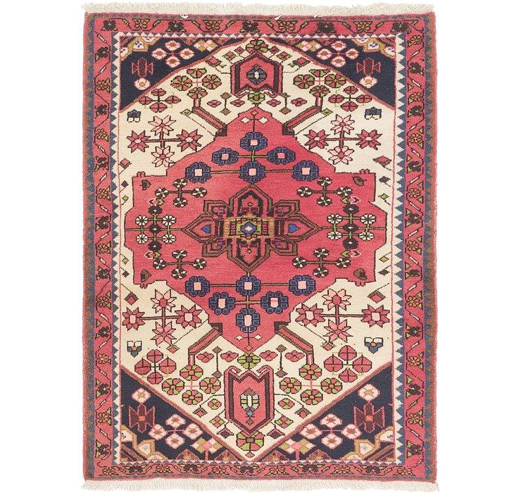 3' 5 x 4' 9 Hamedan Persian Rug