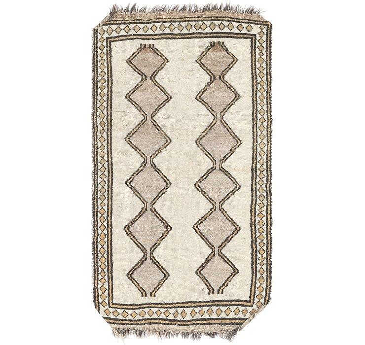 3' 5 x 6' 3 Shiraz Persian Rug