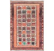 Link to 122cm x 183cm Shiraz-Gabbeh Persian Rug