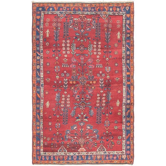 4' 3 x 6' 10 Hamedan Persian Rug
