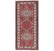 Link to 3' 5 x 7' 2 Meshkin Persian Runner Rug