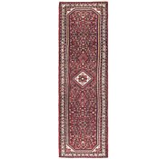 Link to 2' 9 x 9' 8 Hossainabad Persian Runner Rug