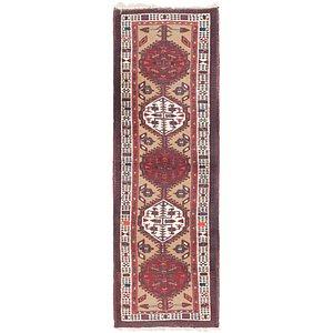 Link to 102cm x 335cm Meshkin Persian Runner ... item page