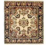 Link to 4' x 4' 6 Bidjar Persian Square Rug
