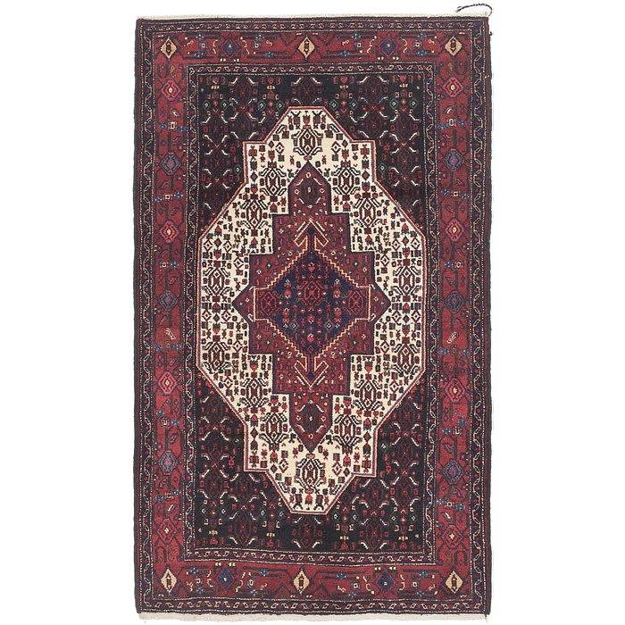 4' x 6' 10 Senneh Persian Rug