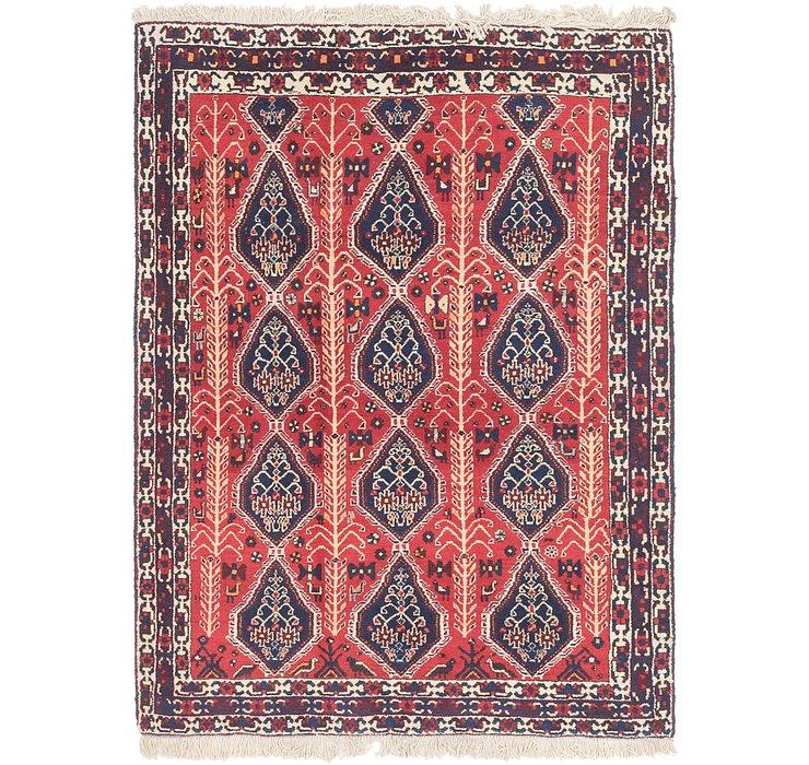 4' 4 x 5' 7 Bakhtiar Persian Rug