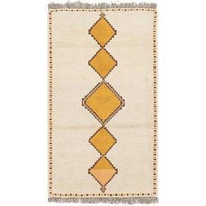 HandKnotted 3' 8 x 6' 9 Shiraz-Gabbeh Persian Rug