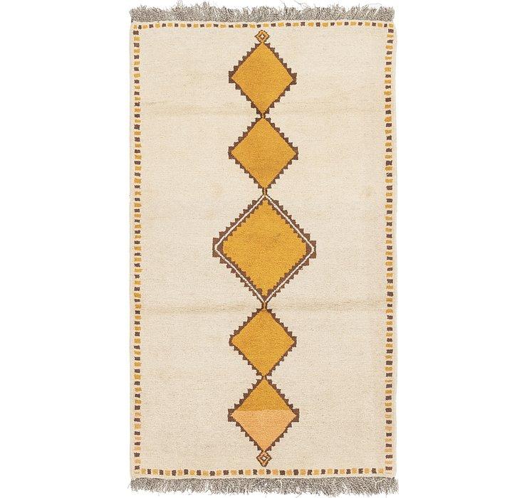 3' 8 x 6' 9 Shiraz-Gabbeh Persian Rug