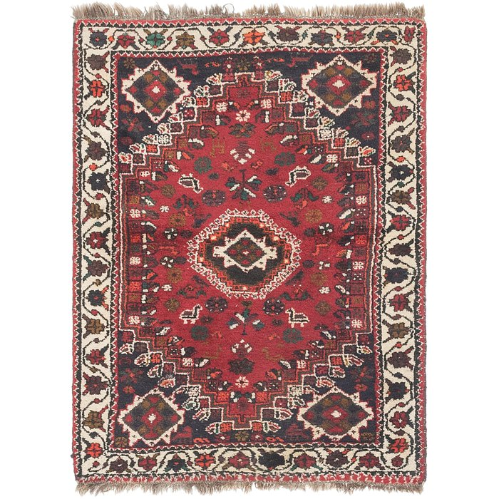 4' 2 x 5' 5 Shiraz Persian Rug