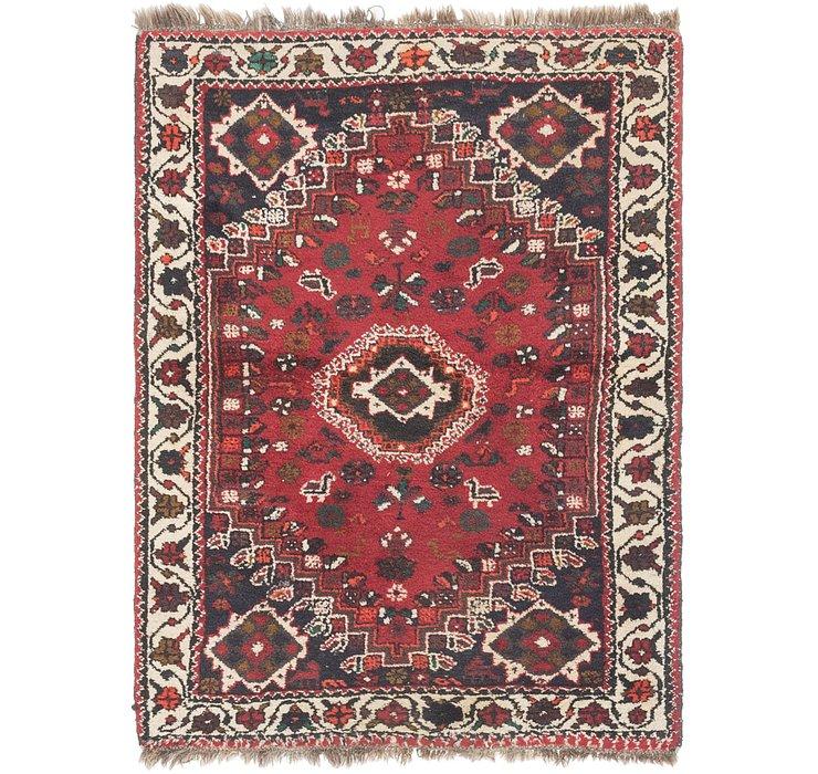 127cm x 165cm Shiraz Persian Rug