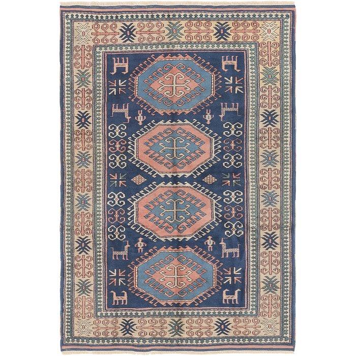 4' 5 x 6' 8 Yalameh Persian Rug