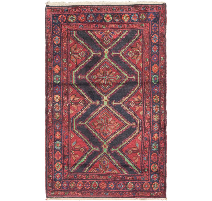 4' 2 x 6' 8 Chenar Persian Rug
