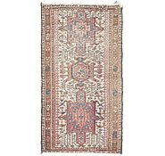 Link to 2' 4 x 4' 2 Gharajeh Persian Rug