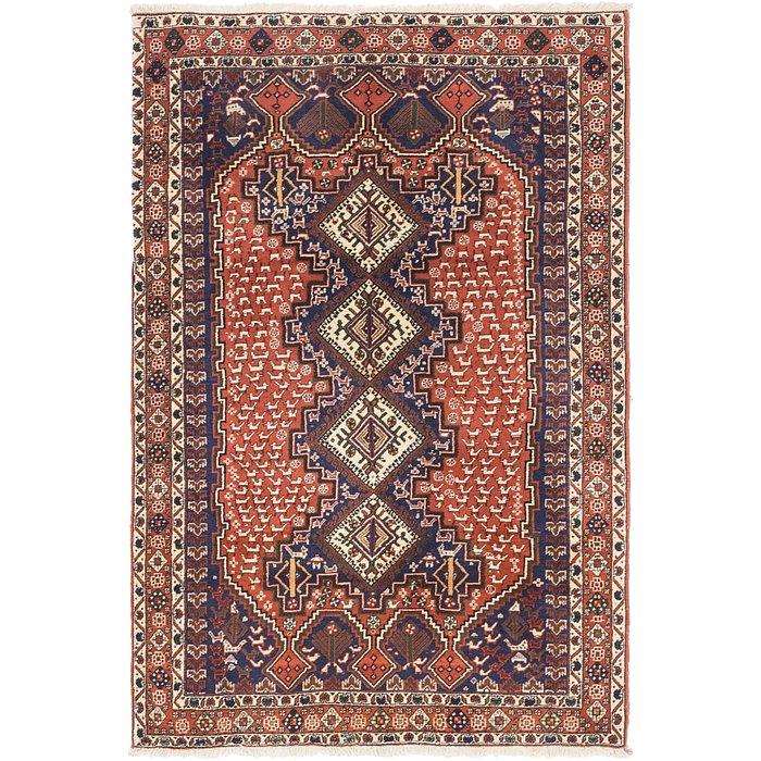 4' 6 x 6' 9 Yalameh Persian Rug