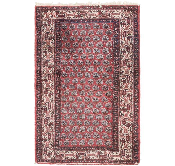 3' 3 x 4' 10 Hamedan Persian Rug