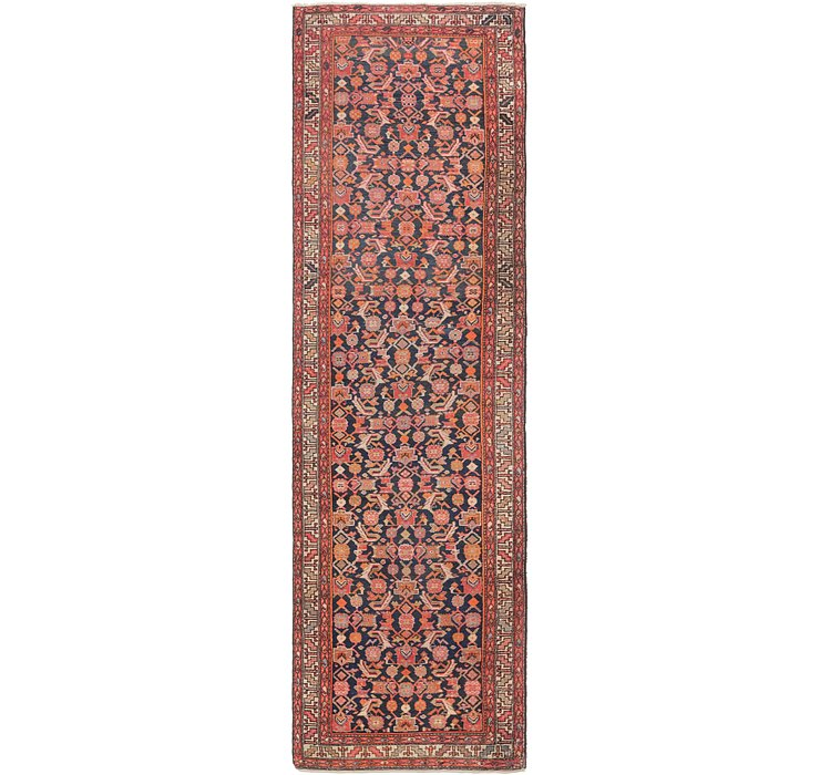 110cm x 378cm Shiraz Persian Runner Rug