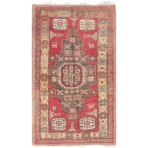 4' 5 x 7' 8 Meshkin Persian Rug