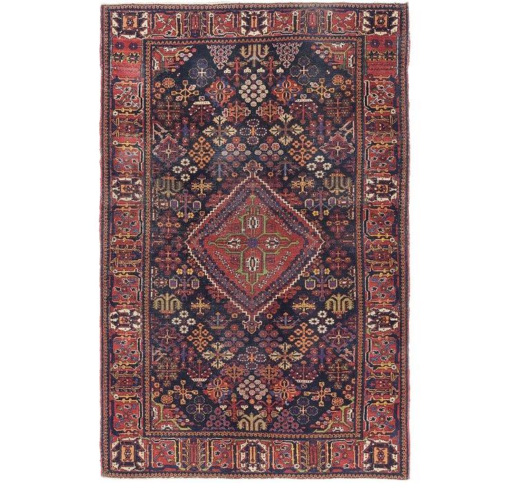4' 9 x 7' 7 Maymeh Persian Rug