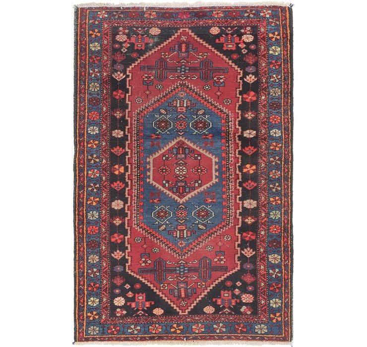 132cm x 213cm Zanjan Persian Rug
