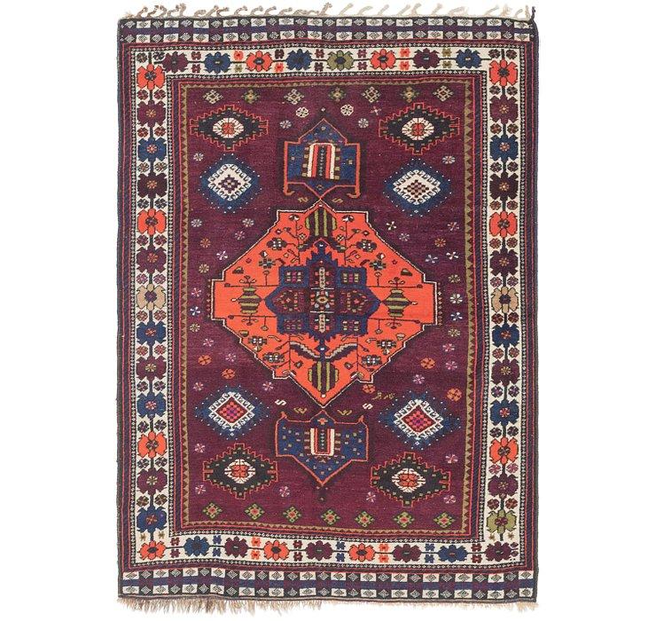 4' 10 x 6' 10 Ghashghaei Persian Rug