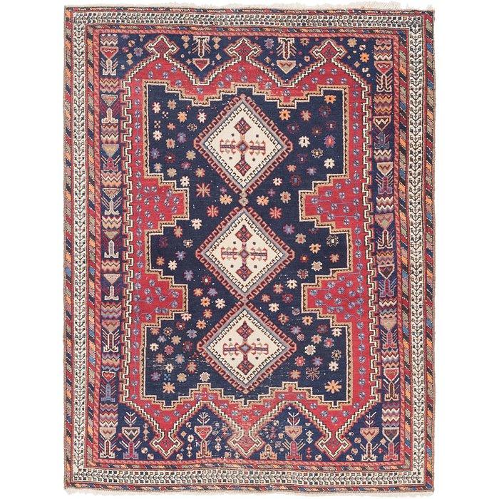 5' 2 x 6' 9 Yalameh Persian Rug