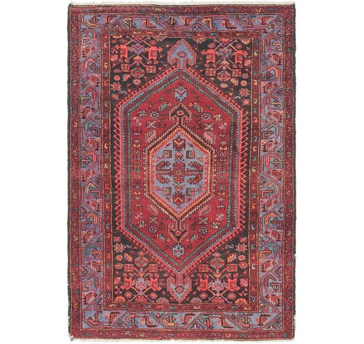 4' 8 x 6' 10 Zanjan Persian Rug