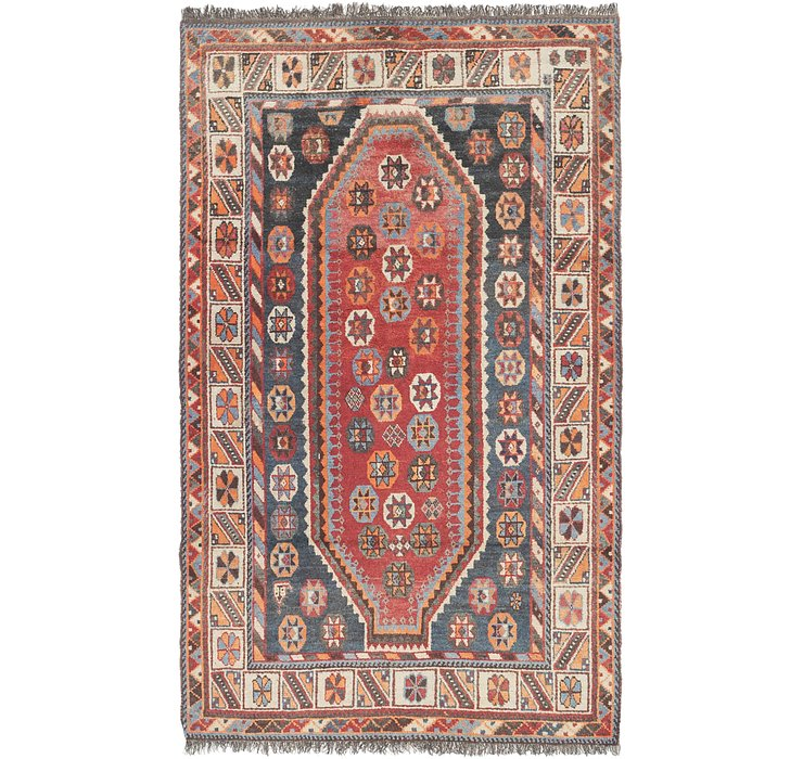 4' x 7' Shiraz Persian Rug