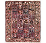 Link to 5' 6 x 6' 7 Bakhtiar Persian Square Rug