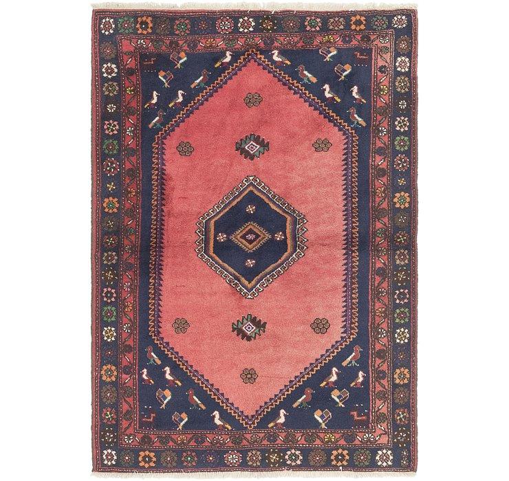 4' 4 x 6' 3 Kelardasht Persian Rug