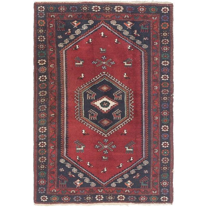 4' 4 x 6' 4 Kelardasht Persian Rug