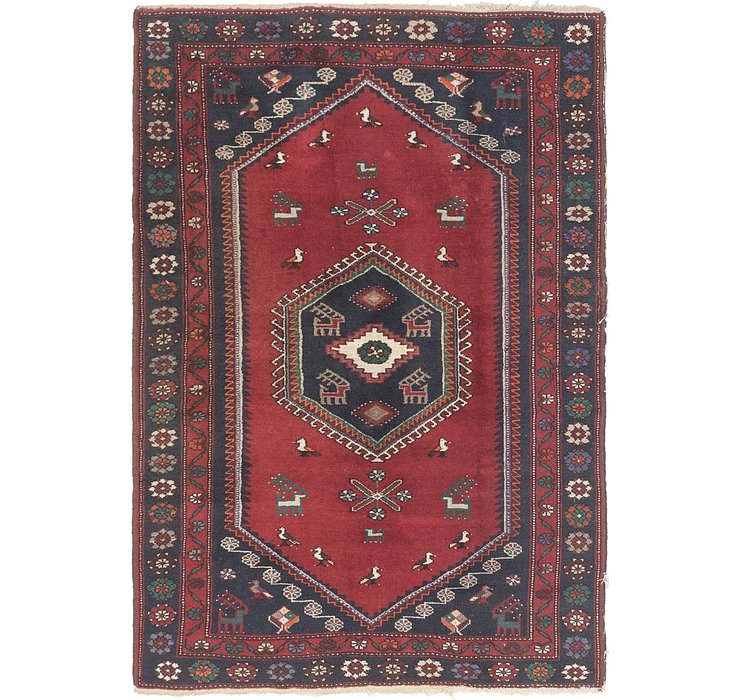132cm x 193cm Kelardasht Persian Rug