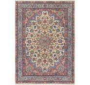 Link to 5' x 7' Yazd Persian Rug