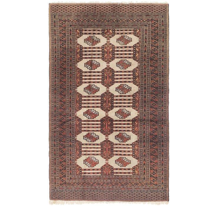4' 2 x 7' 2 Bokhara Oriental Rug
