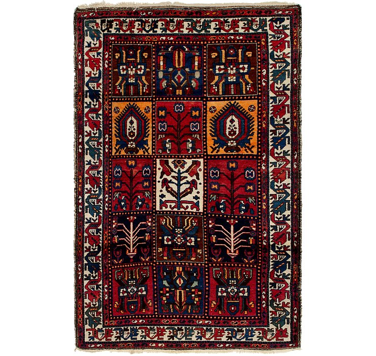 4' 2 x 6' 9 Bakhtiar Persian Rug