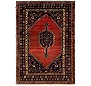 Link to 4' 6 x 6' 6 Mazlaghan Persian Rug