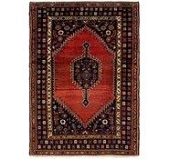 Link to 137cm x 198cm Mazlaghan Persian Rug