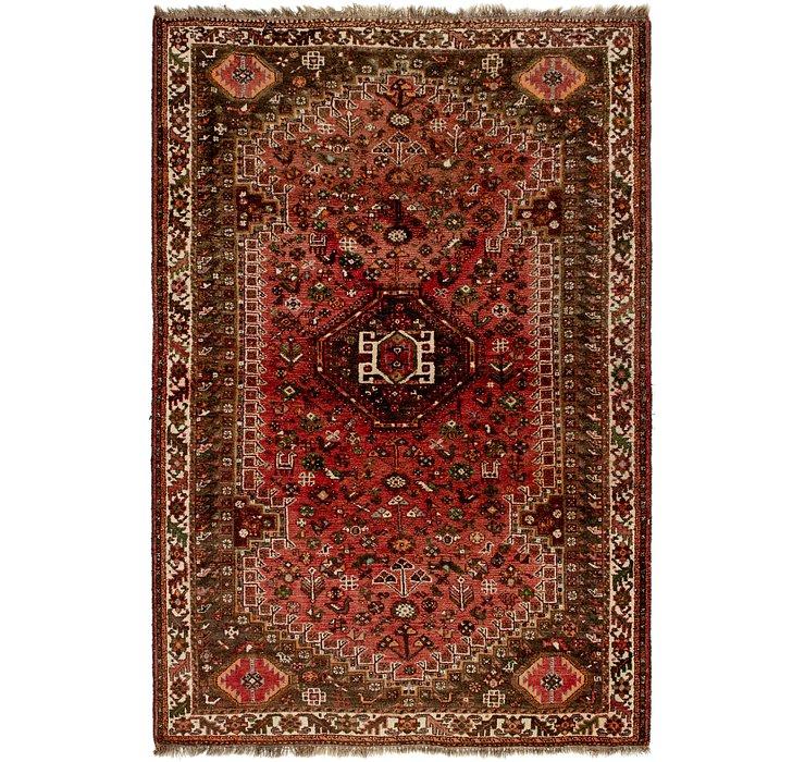 5' 9 x 8' 8 Ghashghaei Persian Rug
