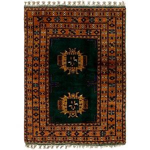 4' 4 x 6' Afghan Akhche Rug