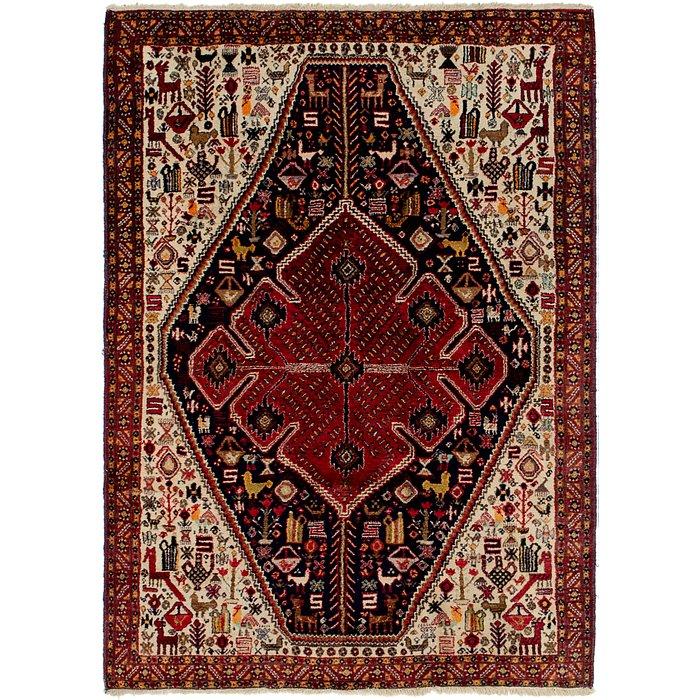 4' 3 x 6' Yalameh Persian Rug