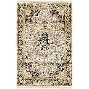 Link to 122cm x 188cm Kashmir Oriental Rug item page