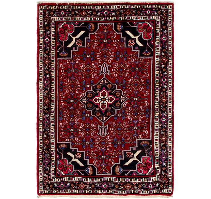 4' x 8' Shiraz Persian Rug