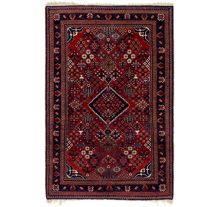 4' x 6' 9 Maymeh Persian Rug