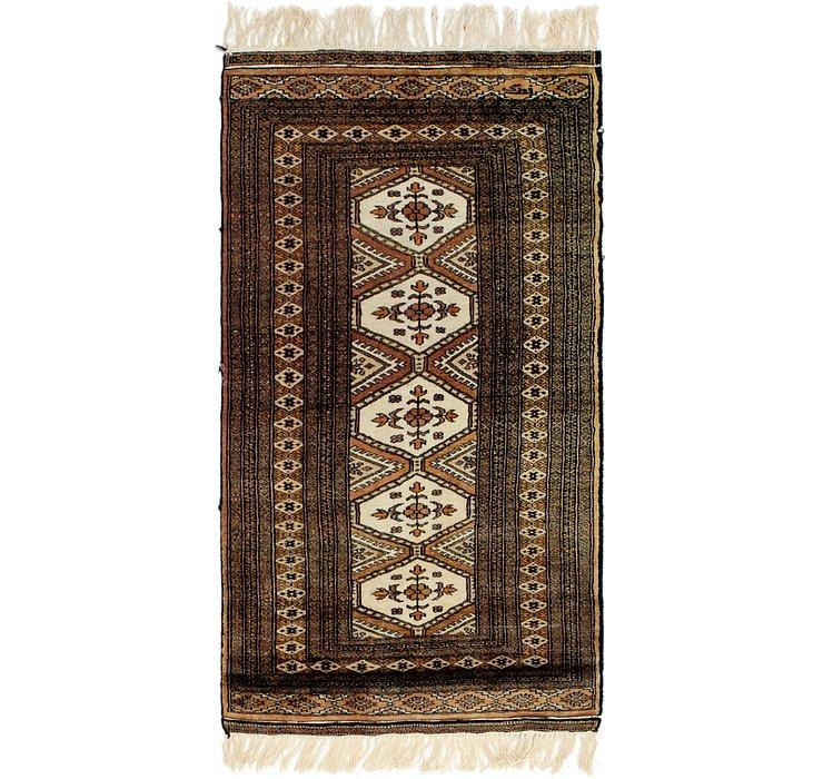 2' 7 x 4' 9 Bokhara Oriental Rug