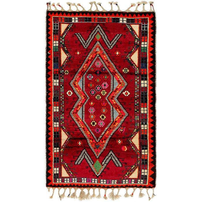 3' 8 x 6' Shiraz Persian Rug