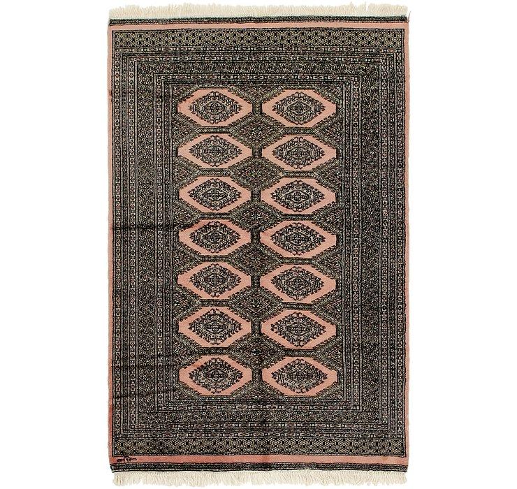 4' x 6' 3 Bokhara Oriental Rug