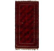 Link to 3' 4 x 6' 9 Afghan Akhche Oriental Runner Rug