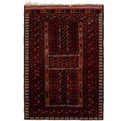 Link to 4' 6 x 6' 8 Afghan Ersari Rug
