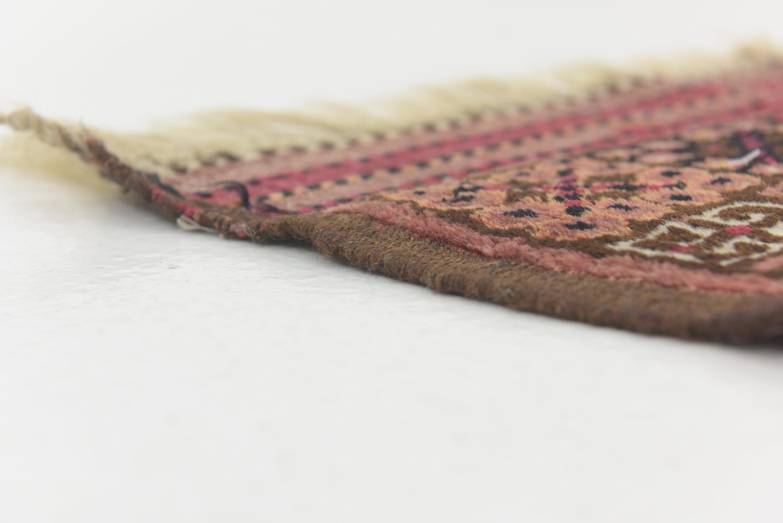 Rust Red 4 6 X 6 8 Afghan Ersari Rug Oriental Rugs Unique Loom